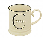 Fairmont & Main - Script Tankard Mug - Coffee
