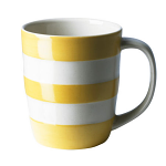 Cornishware - Cornish Colours - Yellow Mug 12oz / 34cl
