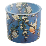 Hokusai - Bird Flowers Glass Tealight