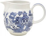 Churchill China Blue Willow Milk Jug (Georgian) 850ml