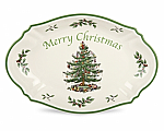 Spode Christmas Tree - Merry Christmas Tray 28cm 11in